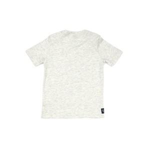 T-Shirt Infantil / Kids Em Malha Com  Estampa Frontal - Um Mais Um Mescla Claro