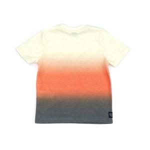 T-Shirt Infantil / Kids Em Malha Com Linho Com Estampa Frontal - Um Mais Um Marinho