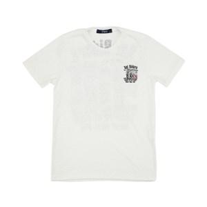 T-Shirt Infantil / Teen Em Malha Flame De Poliester C/Estampa - Two Preto