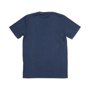 T-Shirt Infantil / Teen Em Malha Penteada C/Estampa Frontal - Two Marinho