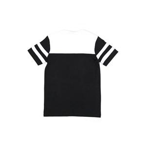 T-Shirt Infantil / Teen Em Malha Penteada C/Estampa Frontal - Two Preto