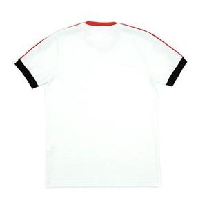 T-Shirt Infantil / Teen Em Malha Penteada C/Estampa Frontal - Two Vermelho