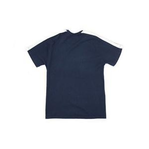 T-Shirt Infantil / Teen Em Malha Penteada C/Estampa - Two Marinho