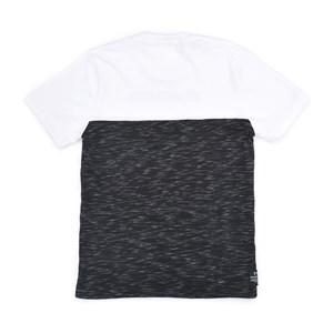T-Shirt Infantil / Teen Em Malha Penteada E Malha Flame C/Estampa Frontal - Two Preto
