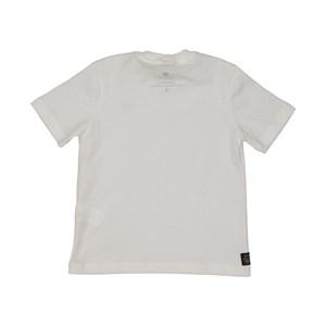 T shirt masculina basica lisa em algodao sustentavel manga curta CRU
