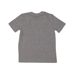 "T shirt masculina estampa ""LONDON"" em algodao sustentavel manga curta MESCLA ESCURO"