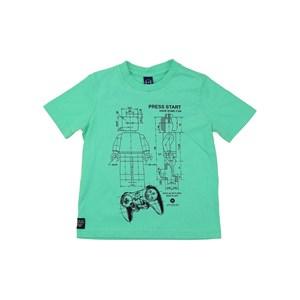 T-Shirt Masculina Infantil Estampas Divertidas Verde