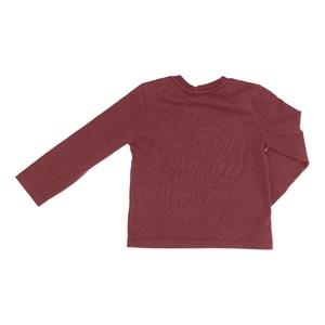 T-Shirt Masculina Infantil / Kids Em Malha Stone - 1+1 Vinho