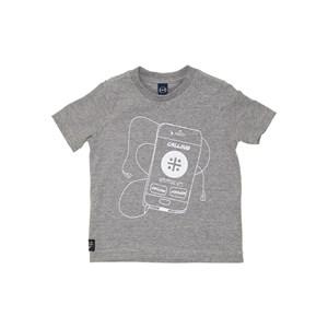 T-Shirt Sustentável Estampa Tecnologia Grafite