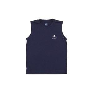 T-Shirt Sustentável Estampa Um Mais Um Marinho