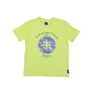 T-Shirt Sustentável Estampa Um Mais Um Paradise Lima