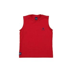 T-Shirt Sustentável Estampa Um Mais Um Vermelho