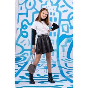 """T shirt teen feminina com detalhes estampado """"GLR PWR"""" Branco"""