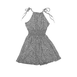 Vestido Alcinha Com Lastex Na Cintura Preto