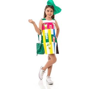 Vestido Feminino Infantil / Kids Em Crepe Com Lycra E Helanquinha Para Forro - Um Mais Um Cru
