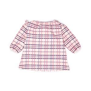 Vestido Infantil / Baby Em Malha Casinha De Abelha Estampado - Um Mais Um Rosa Claro