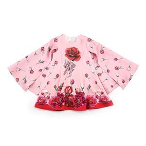 Vestido Infantil / Kids Em Crepe Sarjado - 1+1 Rosa Claro